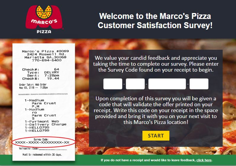 Tell Marco's Survey