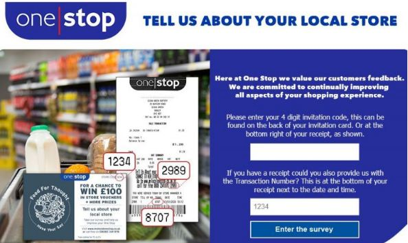 One stop Store Survey