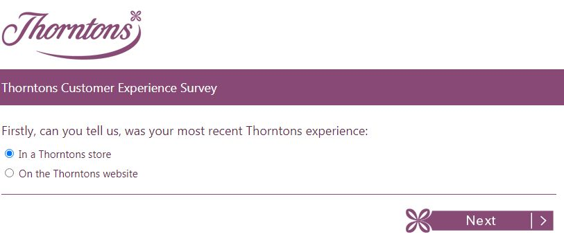 Thornstons survey