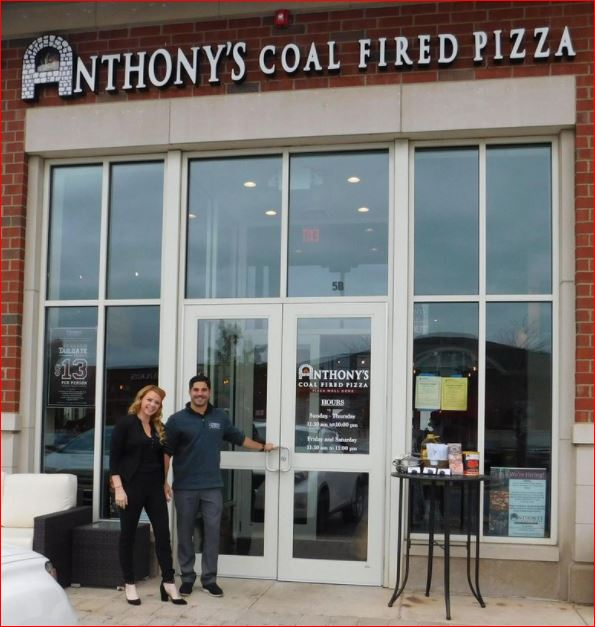 Anthony's Coal Fired Pizza Survey outside