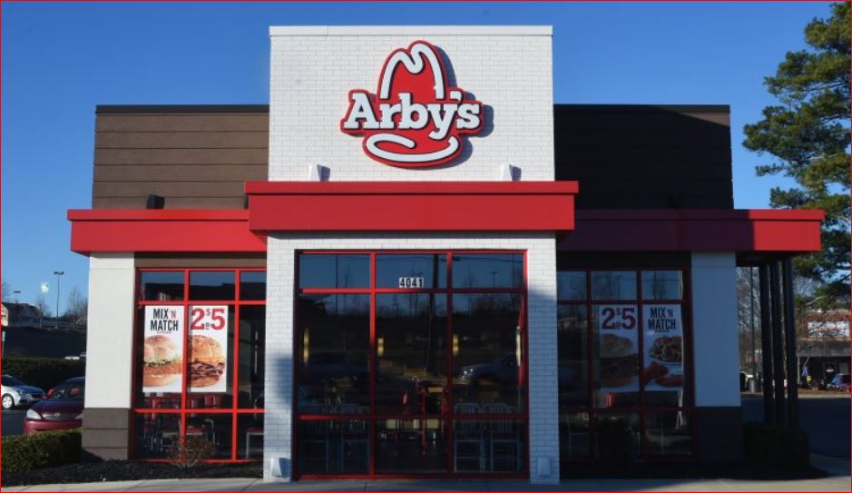 Arby's Survey outside