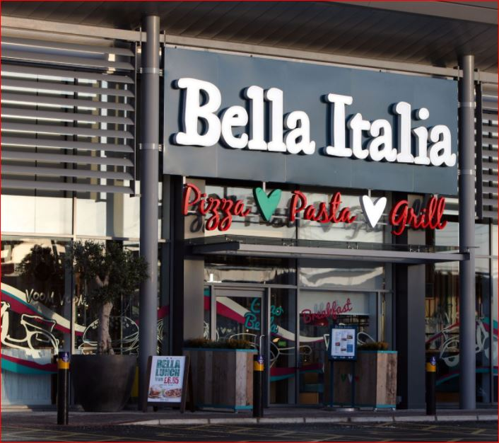 Bella Italia Survey outside