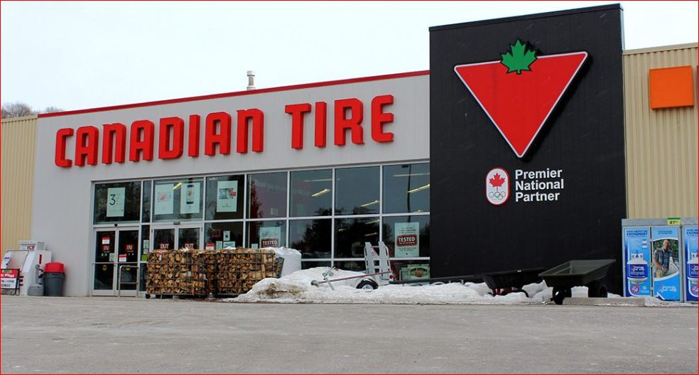 Canadian Tire Gas Survey Outside