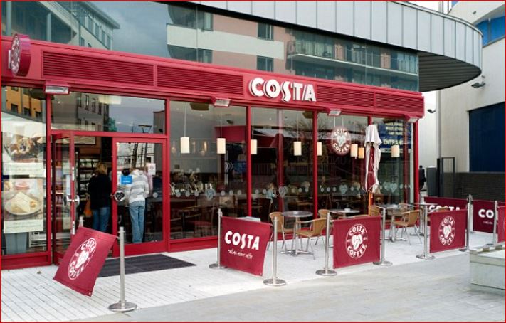 Costa Coffee outside 1