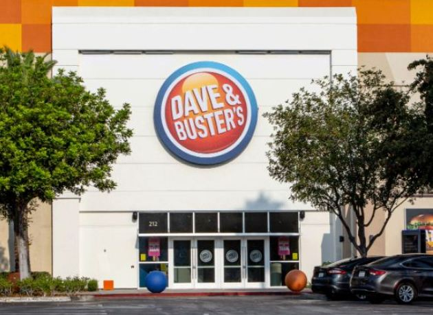 Dave & Busters Survey Outside