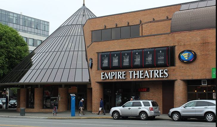 Empire Theatres Survey Outside