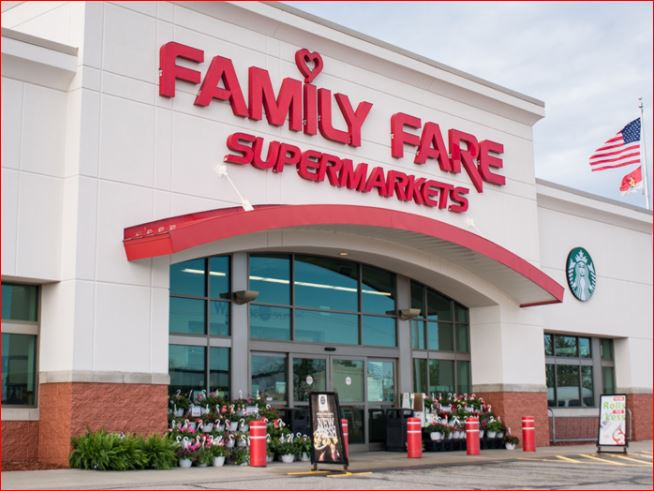 Family Fare Survey outside