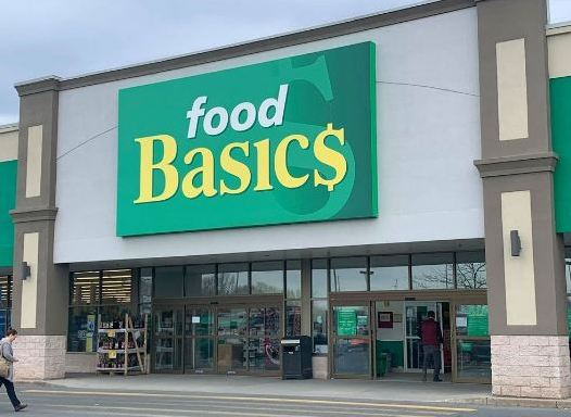Food Basics Survey Outside