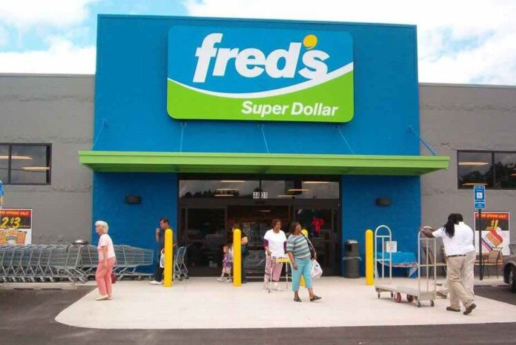 Fred's Super Dollar Survey Outside