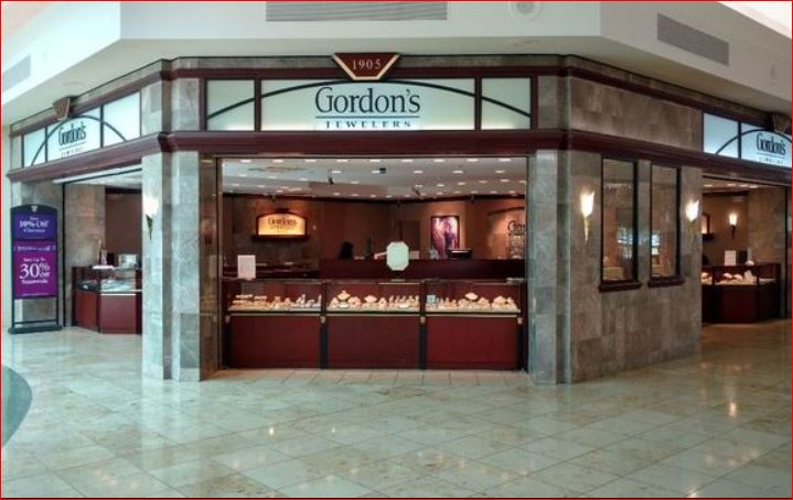 Gordon's Jewelers Survey Outside