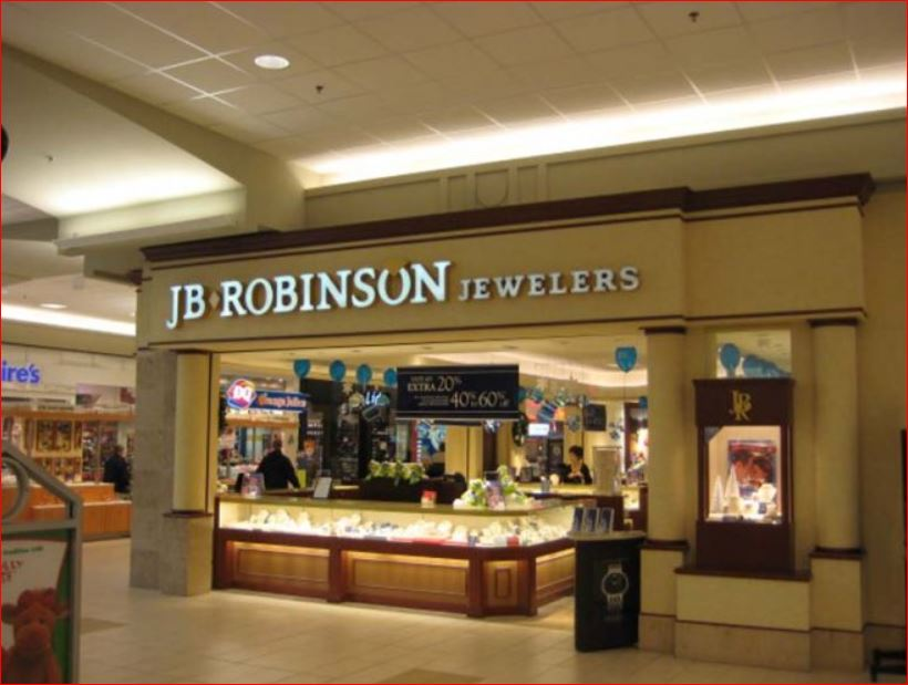JB Robinson Jewelers Survey Outside