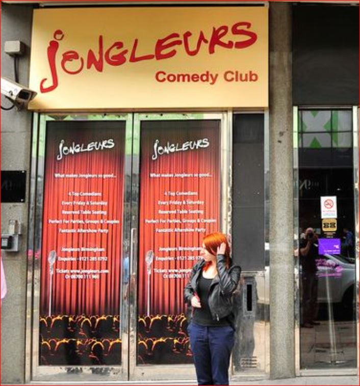 Jongleurs Survey Outside