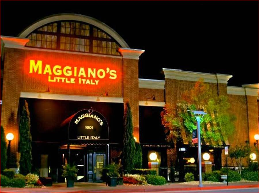 Maggiano's Little Italy Survey outside