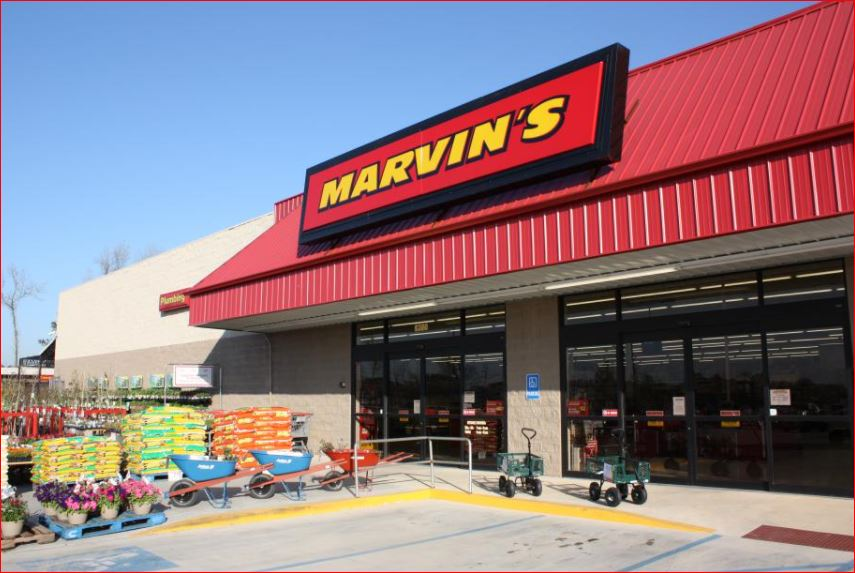 Marvins Building Materials Survey Outside