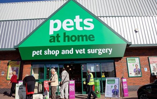 Pets at Home Fish 4 Survey Outside
