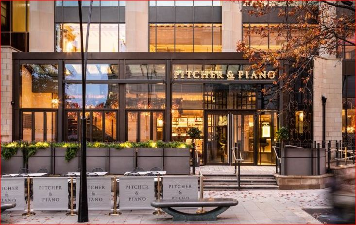 Pitcher and Piano Customer Satisfaction Survey Outside