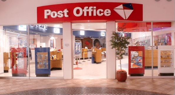 Post Office Tell Us Survey Outside