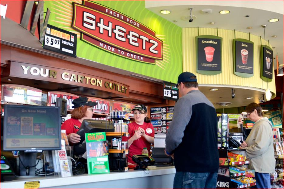 Sheetz Survey Inside