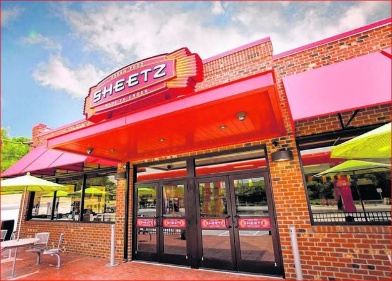Sheetz Survey Outside