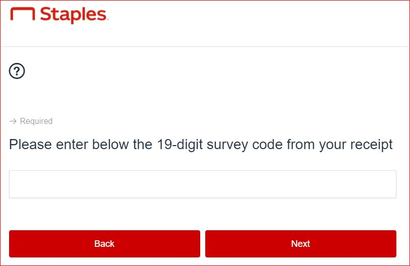Staples Delivery Survey 2