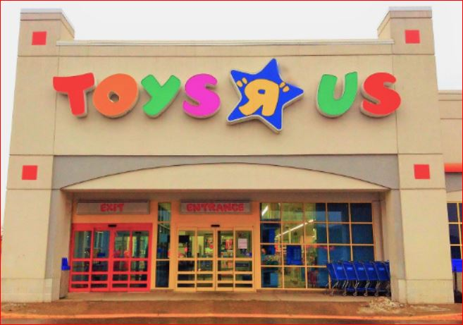 Toys R Us Survey outside